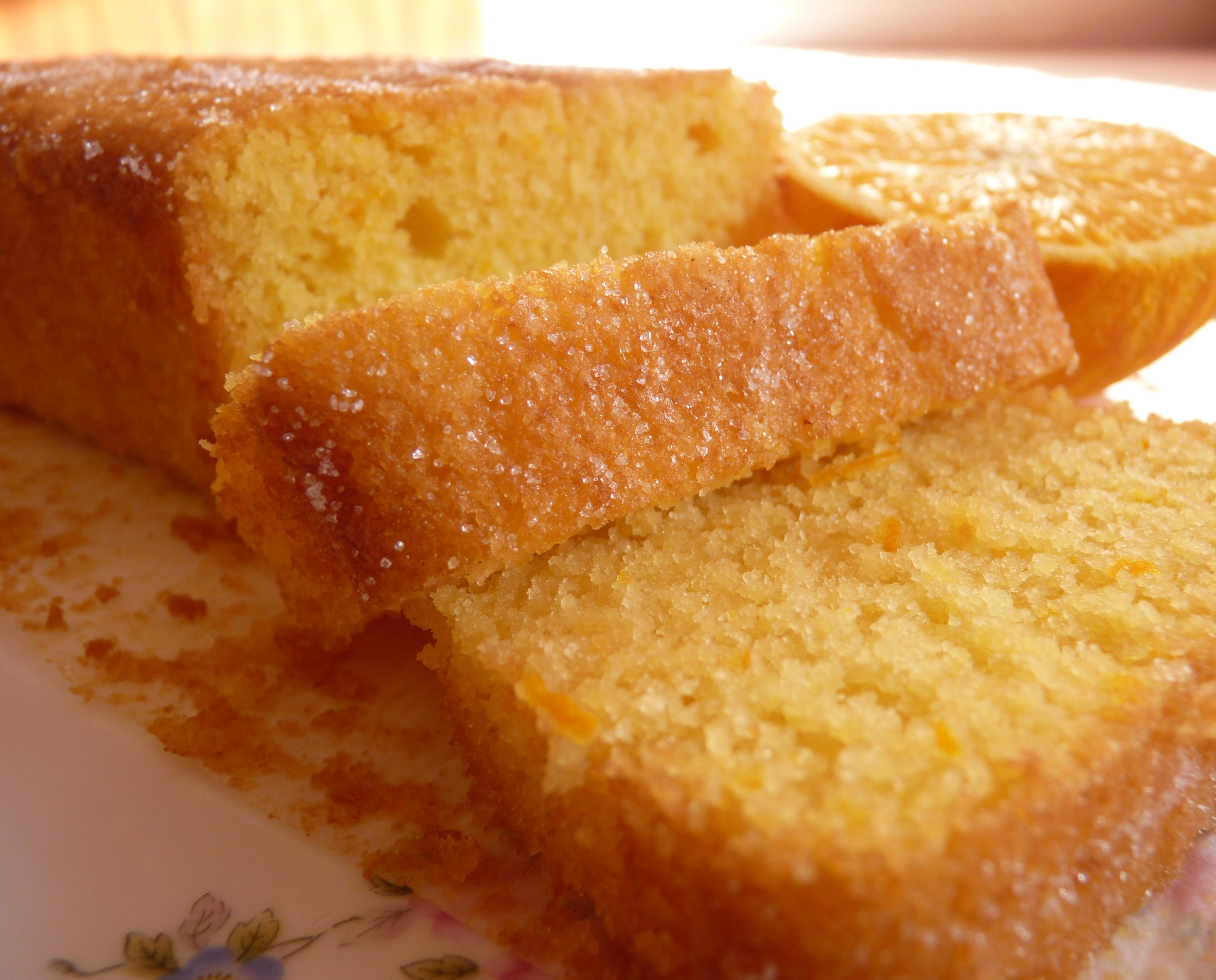 Simple Orange Juice Cake Recipe