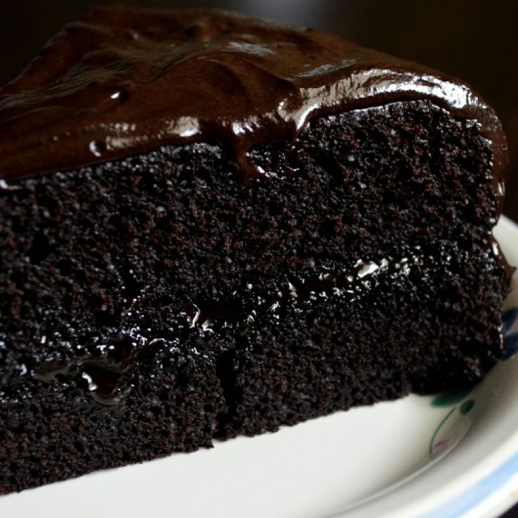 Dark Chocolate Cake Recipe With Coffee